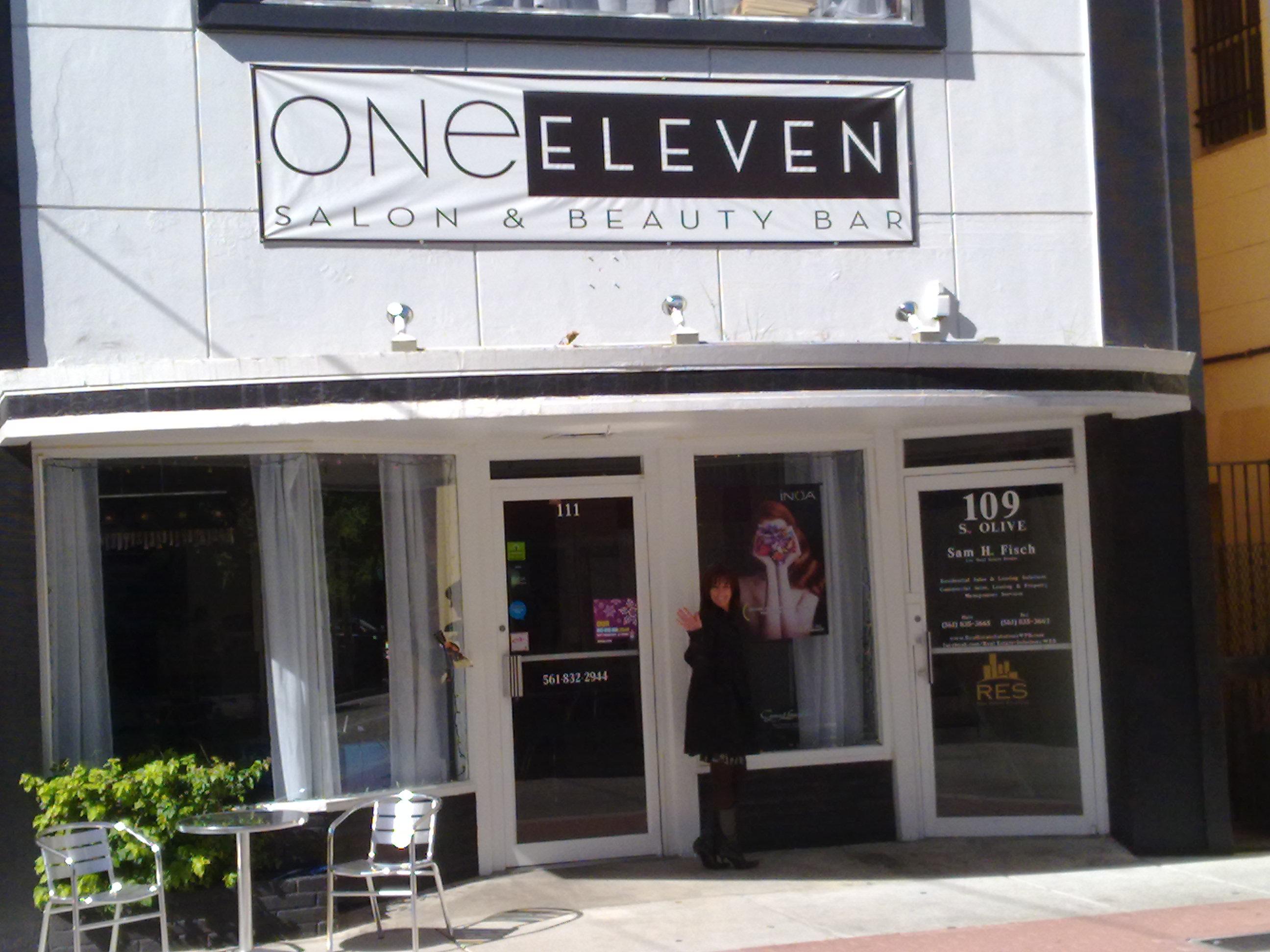 Owner of One XI Salon West Palm Beach Top Hair Salon